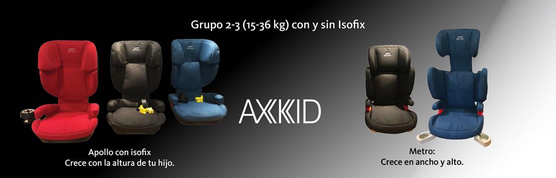 Axkid sillas de seguridad a contramarcha sillas de auto sillas de coche sillas bebes sillas - Silla grupo 1 2 3 contramarcha ...