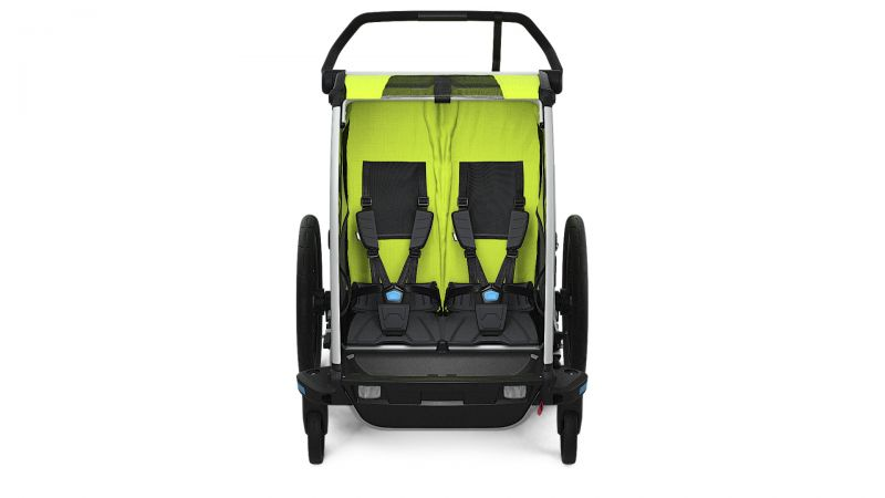 Thule_Chariot_Cab2_Chartreuse_Strolling_FRONT_10204001.jpg