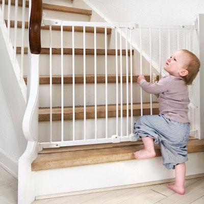 Baby dan productos de seguridad infantil - Barrera escalera ninos ...
